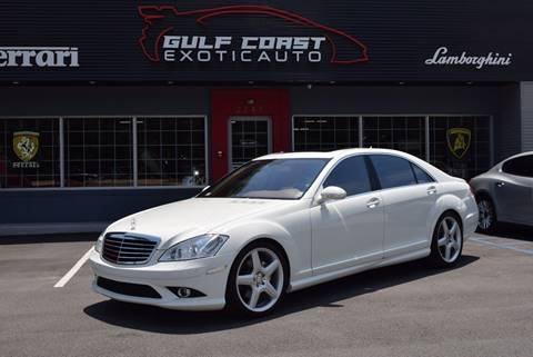 2007 Mercedes-Benz S-Class for sale at Gulf Coast Exotic Auto in Biloxi MS