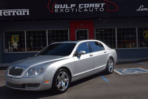 2006 Bentley Continental Flying Spur for sale at Gulf Coast Exotic Auto in Biloxi MS