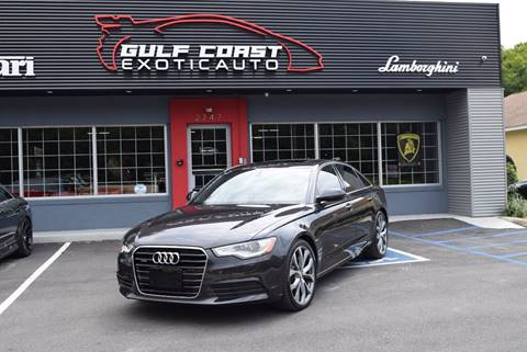 2015 Audi A6 for sale at Gulf Coast Exotic Auto in Biloxi MS