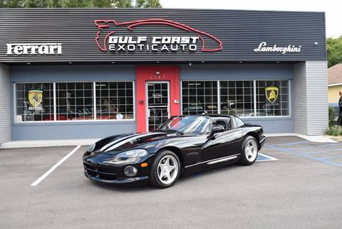 1996 Dodge Viper for sale at Gulf Coast Exotic Auto in Biloxi MS