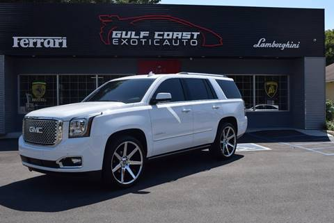 2016 GMC Yukon for sale at Gulf Coast Exotic Auto in Biloxi MS