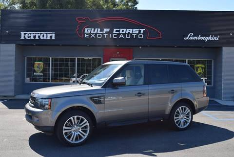 2011 Land Rover Range Rover Sport for sale at Gulf Coast Exotic Auto in Biloxi MS
