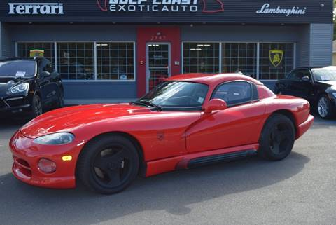1994 Dodge Viper for sale at Gulf Coast Exotic Auto in Biloxi MS