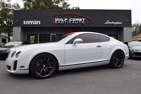 2010 Bentley Continental Supersports for sale at Gulf Coast Exotic Auto in Biloxi MS