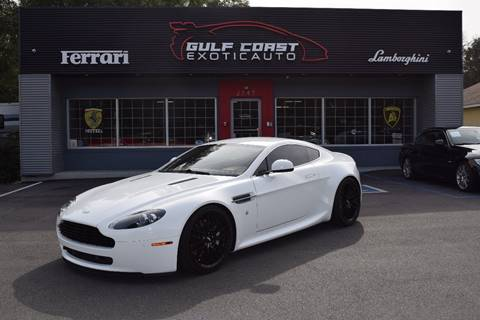 2011 Aston Martin V8 Vantage for sale at Gulf Coast Exotic Auto in Biloxi MS