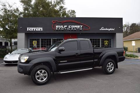 2012 Toyota Tacoma for sale at Gulf Coast Exotic Auto in Biloxi MS