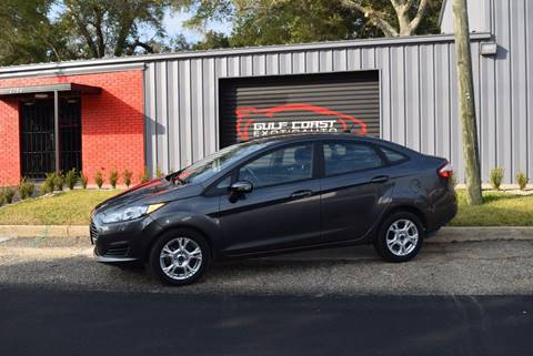 2015 Ford Fiesta for sale at Gulf Coast Exotic Auto in Biloxi MS