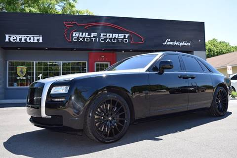 2010 Rolls-Royce Ghost for sale at Gulf Coast Exotic Auto in Biloxi MS