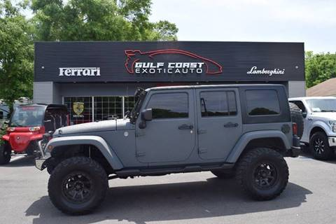 2012 Jeep Wrangler Unlimited for sale at Gulf Coast Exotic Auto in Biloxi MS
