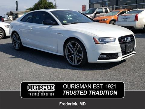 2016 Audi S5 for sale in Frederick, MD