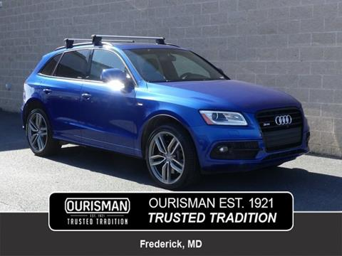 2016 Audi SQ5 for sale in Frederick, MD