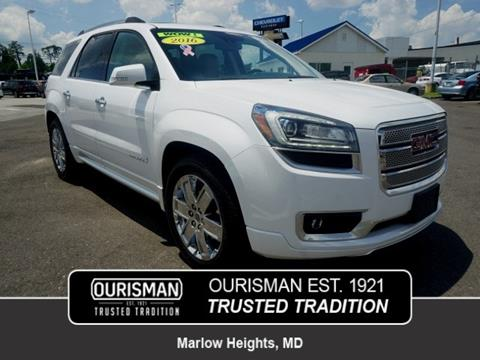 2016 GMC Acadia for sale in Marlow Heights, MD
