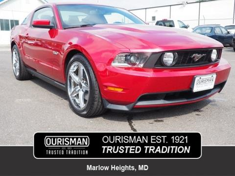 2011 Ford Mustang for sale in Marlow Heights, MD