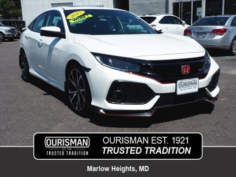 2017 Honda Civic for sale in Marlow Heights, MD