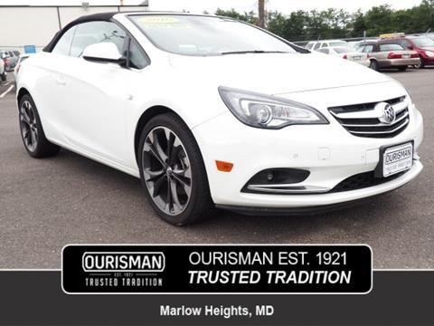2016 Buick Cascada For Sale In Marlow Heights Md
