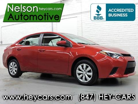2014 Toyota Corolla for sale in Mount Prospect, IL