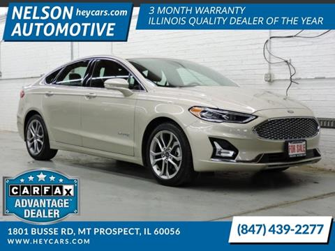 2019 Ford Fusion Hybrid for sale in Mount Prospect, IL