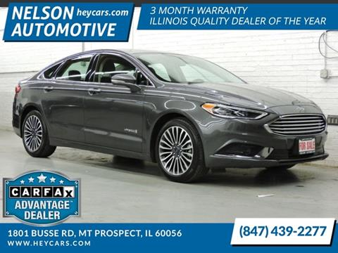 2018 Ford Fusion Hybrid for sale in Mount Prospect, IL