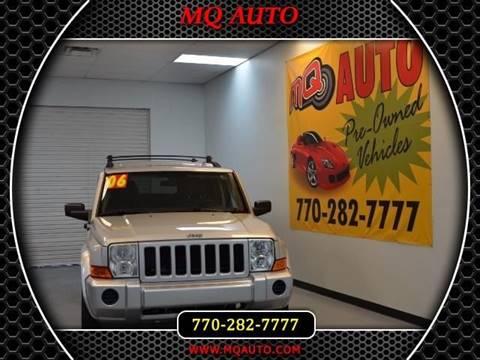 2006 Jeep Commander for sale in Alpharetta, GA