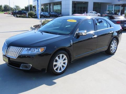 2012 Lincoln MKZ for sale in Temple TX