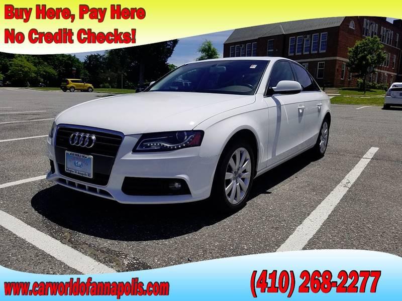Audi A T Quattro Premium In Annapolis MD Car World Of - Audi annapolis