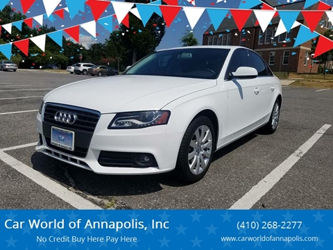 Buy Here Pay Here Used Cars Annapolis Auto Financing For Bad Credit - Audi annapolis