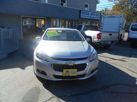 2015 Chevrolet Malibu for sale in Spencer, MA