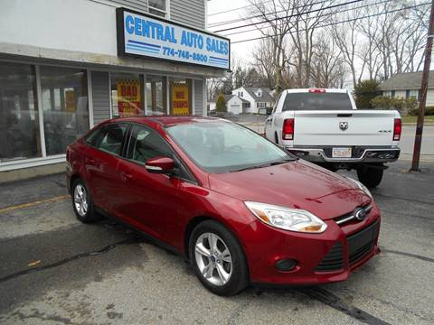 2013 Ford Focus for sale in Spencer, MA