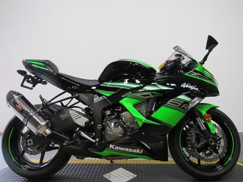 2016 Kawasaki Ninja ZX-6R for sale in Sandusky, MI