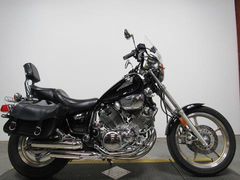 Black Yamaha Virago