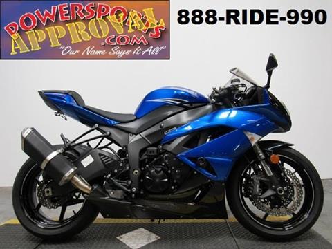 2011 Kawasaki Ninja Zx 6r For Sale In Sandusky Mi
