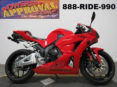 2013 Honda CBR600RR for sale in Sandusky, MI