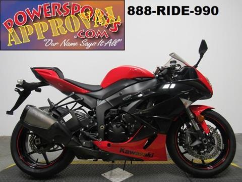 2012 Kawasaki Ninja ZX-6R for sale in Sandusky, MI