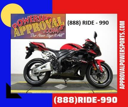 2011 Honda CBR600RR for sale at Approval Powersports in Sandusky MI