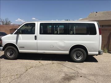 2001 Chevrolet Express Passenger for sale in Santa Clara, UT