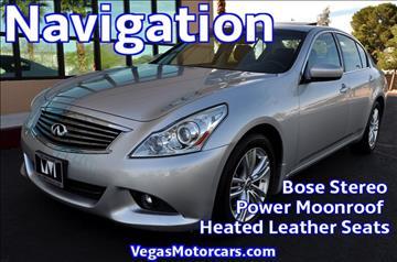 2013 Infiniti G37 Sedan for sale in Las Vegas, NV