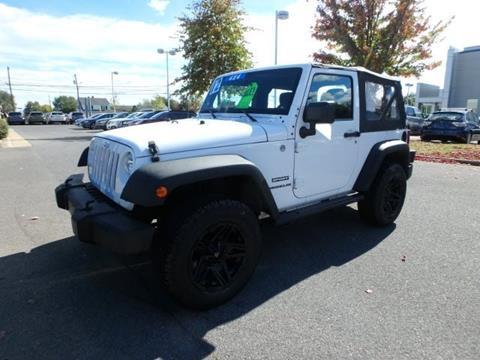 2012 Jeep Wrangler for sale in Winchester VA