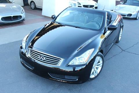 2010 Infiniti G37 Convertible for sale in Tempe, AZ