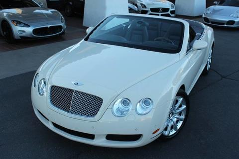 2008 Bentley Continental GTC for sale in Tempe, AZ