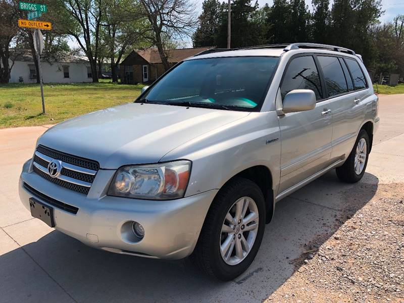 2006 toyota highlander hybrid limited 4dr suv in norman ok wholesale auto of norman. Black Bedroom Furniture Sets. Home Design Ideas