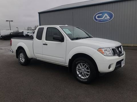 2016 Nissan Frontier SV V6 for sale at Team Hall at City Auto in Murfreesboro TN