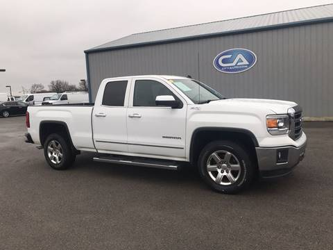 2014 GMC Sierra 1500 SLT for sale at Team Hall at City Auto in Murfreesboro TN
