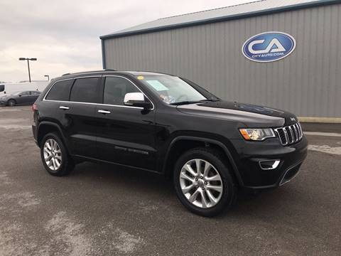 2017 Jeep Grand Cherokee Limited for sale at Team Hall at City Auto in Murfreesboro TN