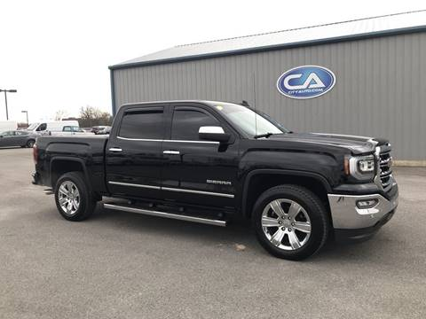 2016 GMC Sierra 1500 SLT for sale at Team Hall at City Auto in Murfreesboro TN