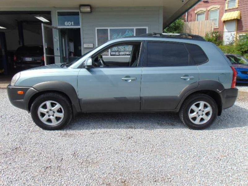 2005 Hyundai Tucson 4dr Gls Fwd 27l V6 Auto In Akron Oh Belair Motors