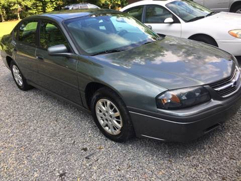 2004 Chevrolet Impala for sale in Little Birch, WV