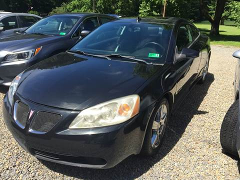 2009 Pontiac G6 for sale in Little Birch, WV