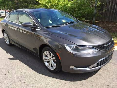 2015 Chrysler 200 for sale in Chantilly, VA