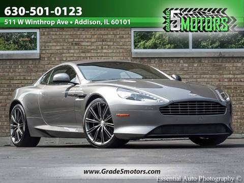 2013 Aston Martin DB9 for sale in Addison, IL
