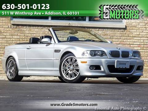 2002 BMW M3 for sale in Addison, IL